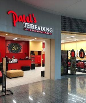 Front View of Patel's Threading and Henna Art in Galleria Mall