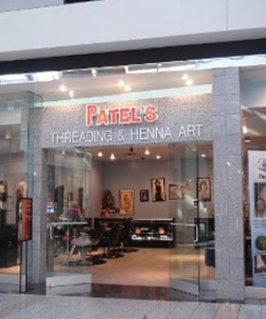Front View of Patel's Threading and Henna Art in Boulevard Mall