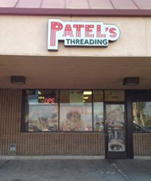 Front View of Patel's Threading